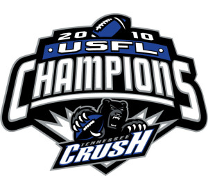 USFL Champions the Tennessee Crush